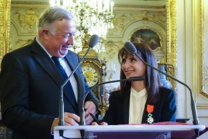 Gérard Larcher et Florine Boukhobza